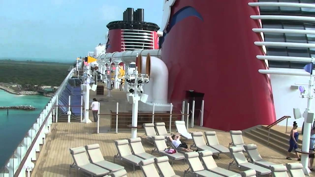 Disney Dream Deck 11 And 12 Tour, Disney Cruise Line With