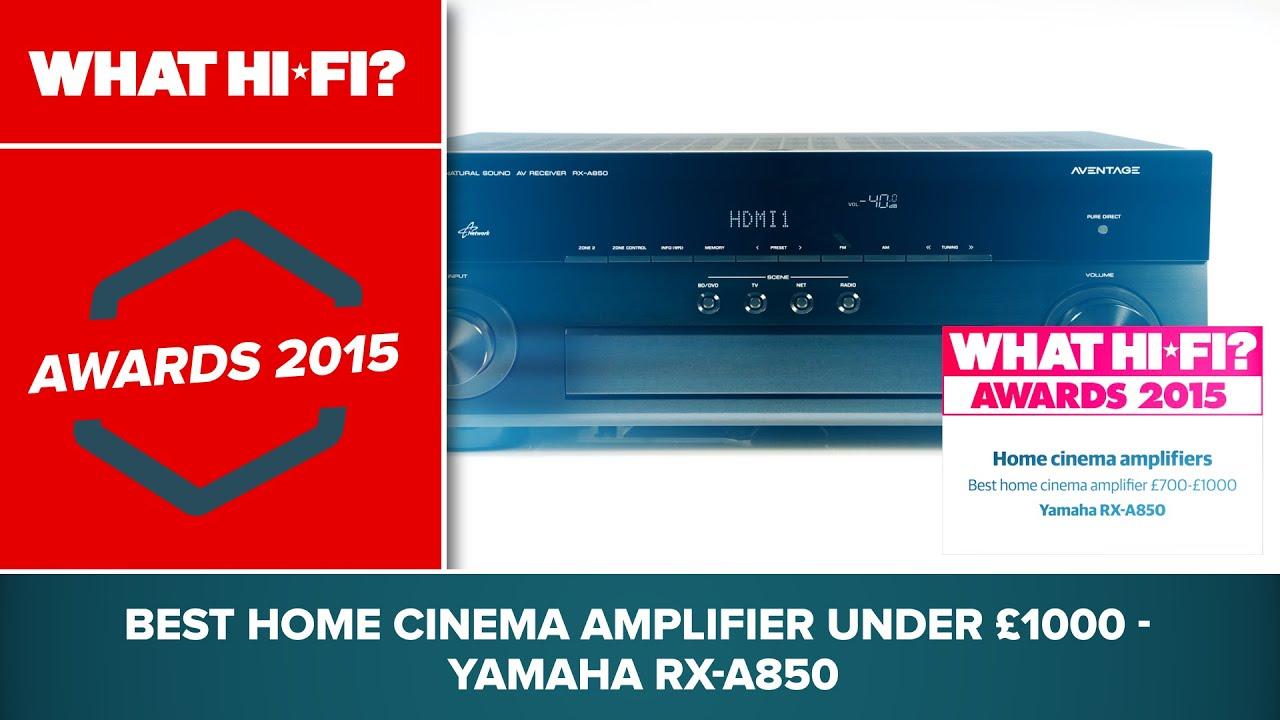 Yamaha RX-A850 review | What Hi-Fi?