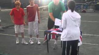 Piers Foley & David Jones - 12U AEGON Junior Nationals Doubles Champions