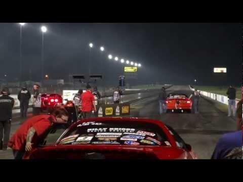 Danny Niceley and Judson Massengill LSX shootout 2012 Indy