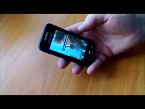 Замена тачскрина в телефоне Samsung GT-S5230
