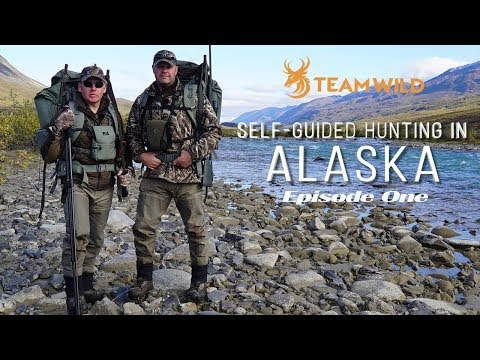 Self-guided Moose & Caribou Hunting In Alaska: Episode 1 - Drop Hunt Adventure