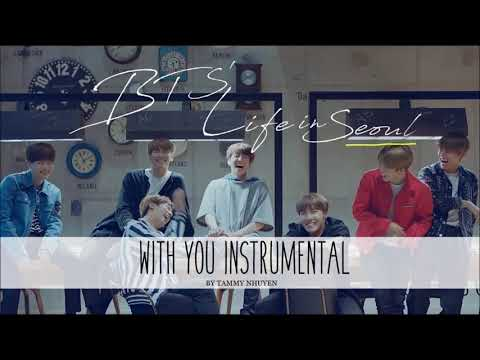 BTS 방탄소년단 - With Seoul INSTRUMENTAL / Karaoke by Tammy Nhuyen
