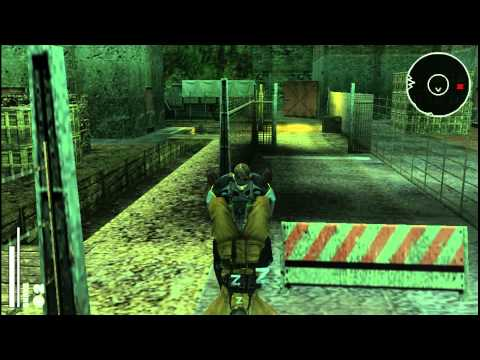 Metal Gear Solid Portable Ops Gameplay 1080P