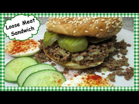 How To Make Roseanne's Loose Meat Sandwich ~ Tavern Sandwich Recipe