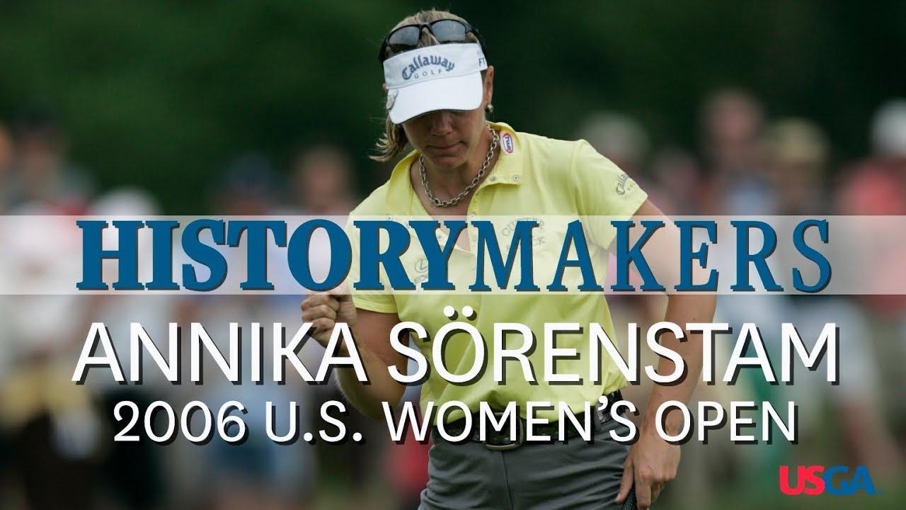History Makers: Annika Wins Her Third U.S. Women's Open