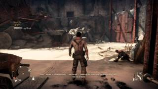 Mad Max ps4 new gameplay