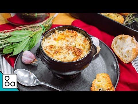 soupe-à-l'oignon-gratinée---youcook
