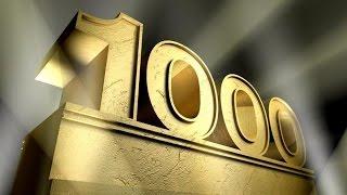 Numbers 1-1000 [ARIAL]