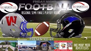 Austin Westlake VS Edinburg Vela Regional Semi Finals Football Game