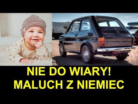 Ile kosztuje Fiat 126 z Niemiec?
