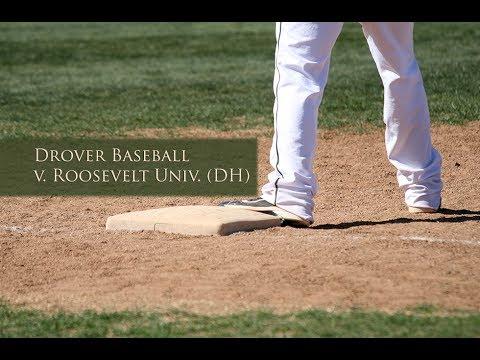 Drover Baseball v. Roosevelt University