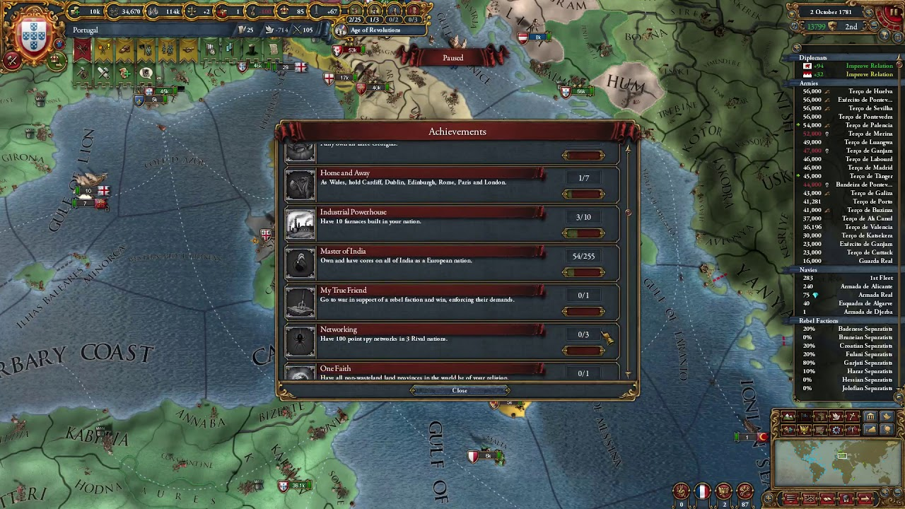 Eu4 Guides - Voltaire's Nightmare achievement!