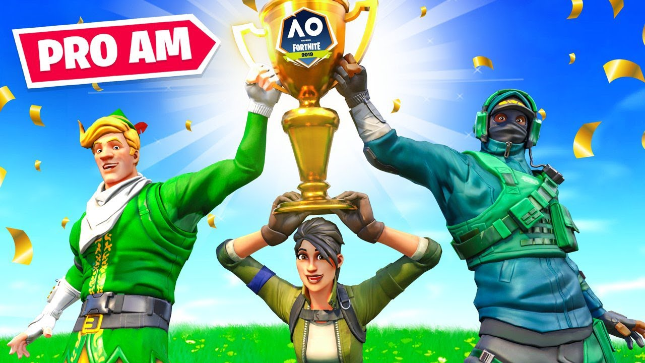 How Fresh & I *WON* The Fortnite PRO AM! ($100k) thumbnail