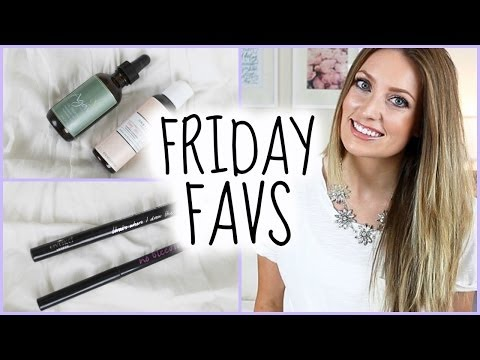 Friday Favs: Agave Oil, Hourglass, One Love Organic + More | vlogwithkendra