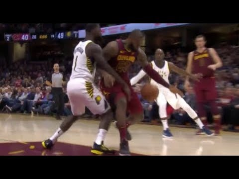 Lance Stephenson punches LeBron in the balls!