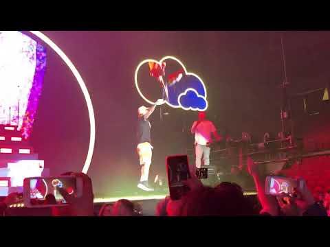 J Balvin Live @ United Supermarkets Arena - Yo Le Llego - Lubbock, TX (Arco Iris Tour 2019)
