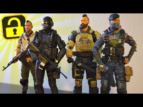 NEW Black Ops 4 Figures (+ DLC Game Codes!)