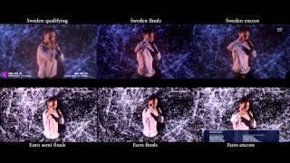 Heroes - Eurovision and Melodifestivalen 6 x Split Screen