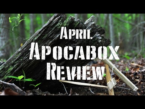 Apocabox Unboxing and Review: April 2016