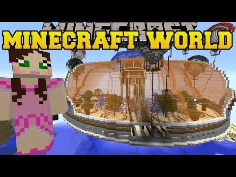 Minecraft: STRUCTURES WORLD (BATTLESHIPS, FLOATING HOUSES, & DUNGEONS!) Mod Showcase