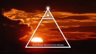 Meditation Music - Sub Bass Heart Beat Pulse Music for Relaxation, Soothing Music
