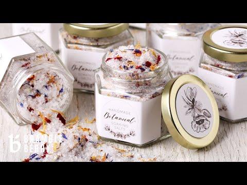 How to Make Botanical Bath Salts Bramble Berry Kit Project | Bramble Berry