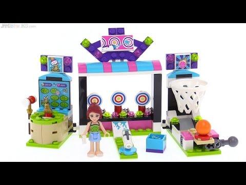 LEGO Friends Amusement Park Arcade review! 41127