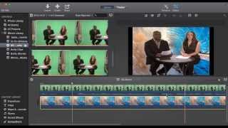 iMovie 10.0 Greenscreen Tutorial