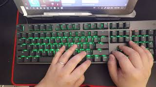 Xiaomi Gaming Keyboard and Wisdom of RGB Review