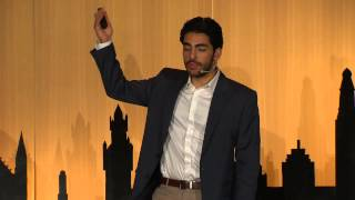 Barbers and barriers - connections in a Syrian refugee camp: Faisal Attrache at TEDxHagueAcademy