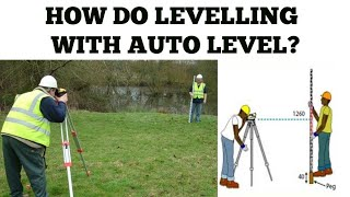 HOW TO DO LEVELLING  WITH AUTO LEVEL.