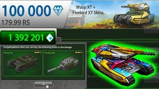 Tanki Online ROAD TO LEGEND #14 By LendaBR | Buying Wasp XT + Fire XT Skins