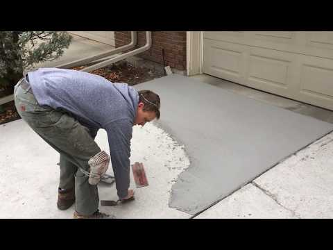 TF Structural Concrete Overlay - Overlay Instructions