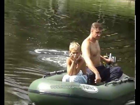 """Сверхлёгкий подвесной водомётный лодочный мотор """"СТАЛКЕР-ДЖЕТ"""" 2009/Water jet motor"""