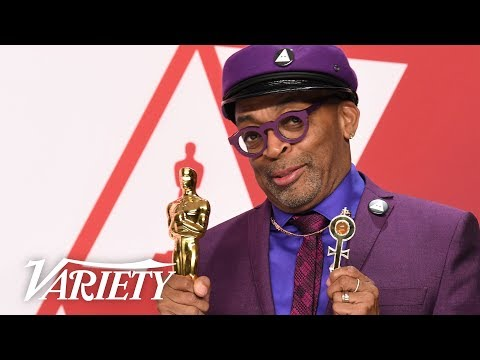 Spike Lee - 'BlackKklansman' Best Adapted Screenplay - Oscars Full Backstage Interview