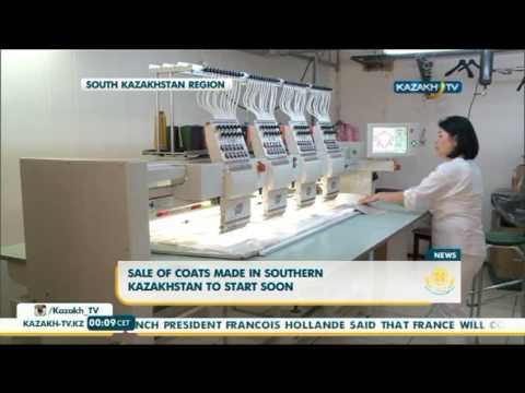 Sale of coats made in Southern Kazakhstan to start soon - Kazakh TV