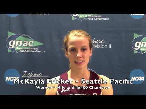 2013-14 Great Northwest Athletic Conference Indoor Track Cha