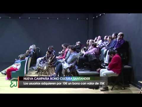 Campaña primavera Bono Cultura Santander