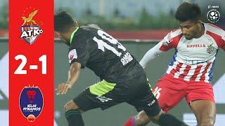 Hero ISL 2018-19 | ATK 2-1 Delhi Dynamos FC | Highlights