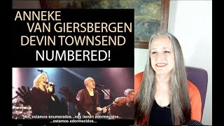 Voice Teacher Reaction  Anneke Van Giersbergen & Devin Townsend Project - Numbered!