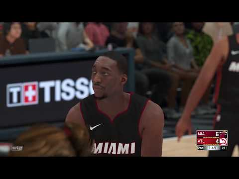 NBA 2K18 Miami Heat vs Atlanta Hawks Gameplay PS4 HD