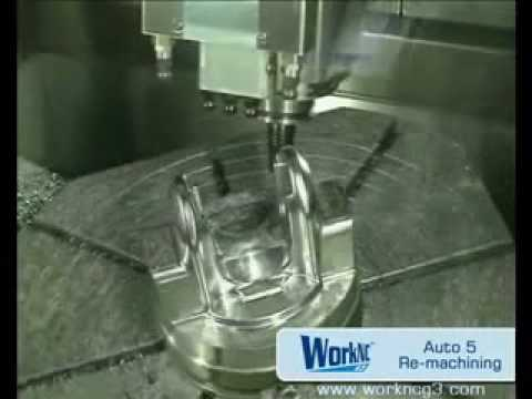 CNC 5 axis Automatic Milling / Re-machining