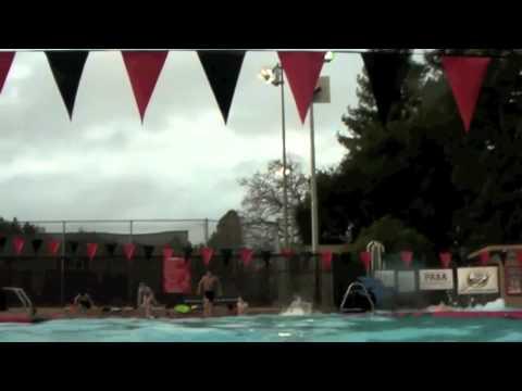 Dive 200, 100, 50, 25 with Stroke film @Palo Alto Stanford Aquatics