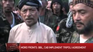 MNLF, MILF leaders sign joint declaration urging passage of BBL