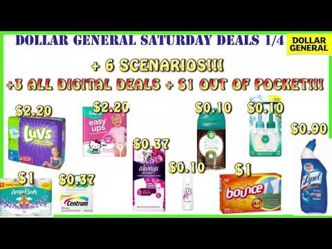 😱wow-dollar-general-deals-1/4-+-dollar-general-saturday-scenarios-1/4-+super-cheap-out-of-pocket!!🤑