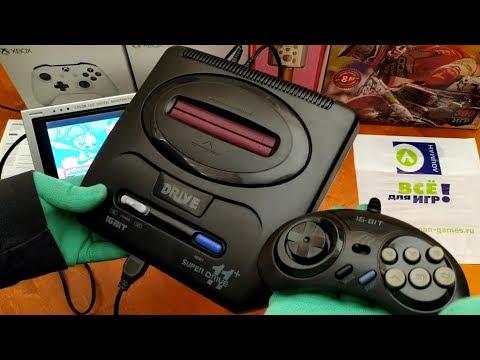 Обзор | Сега (Sega) SUPER DRIVE XI (95 игры) - игровая приставка | LozmanGames
