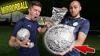Palla COMPOSTA da CARTA D'ALLUMINIO - Ball Test Soccer thumbnail