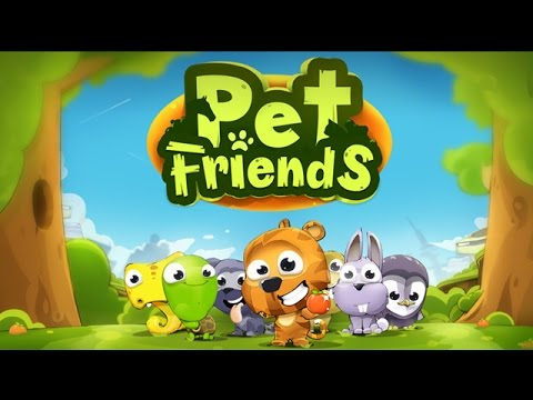 Pet Friends Line Match 3 Game Android Gameplay (HD)