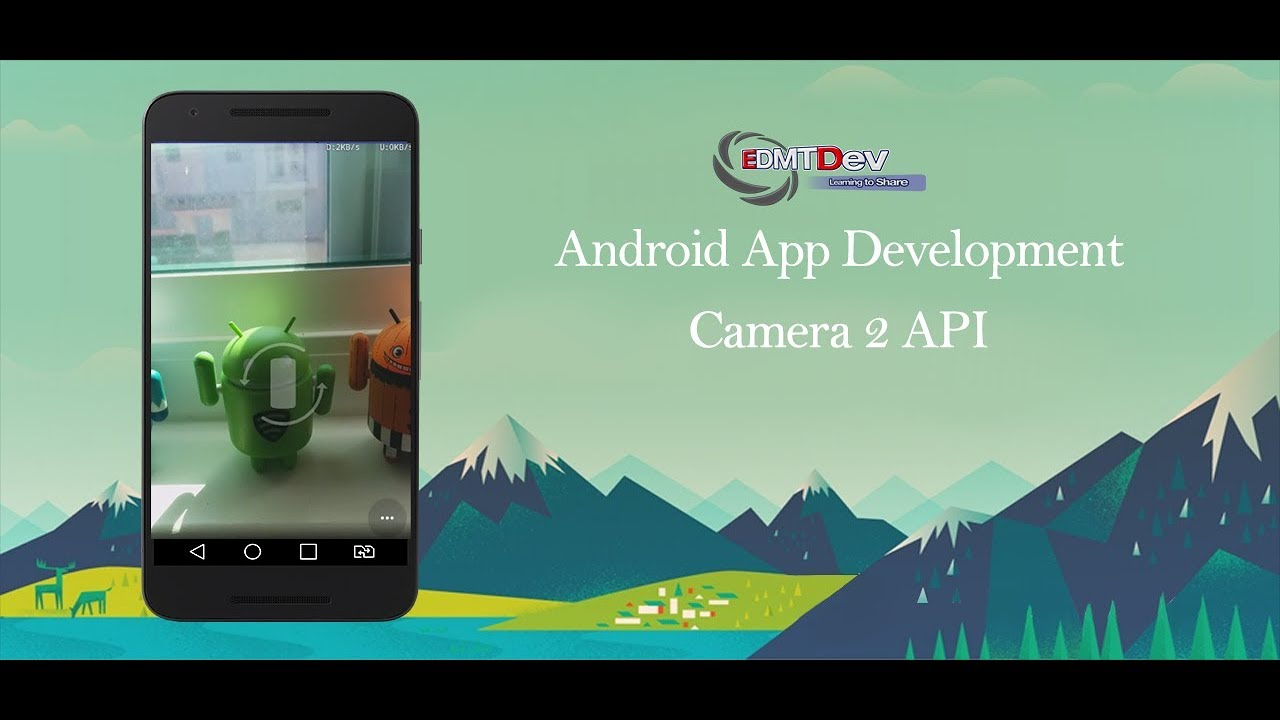 Android Studio Tutorial - Camera 2 API FULL